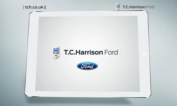 T.C. Harrison goes smart with advertising…