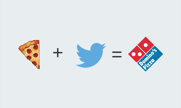 'Tweet-a-pizza' is a taste of the future.