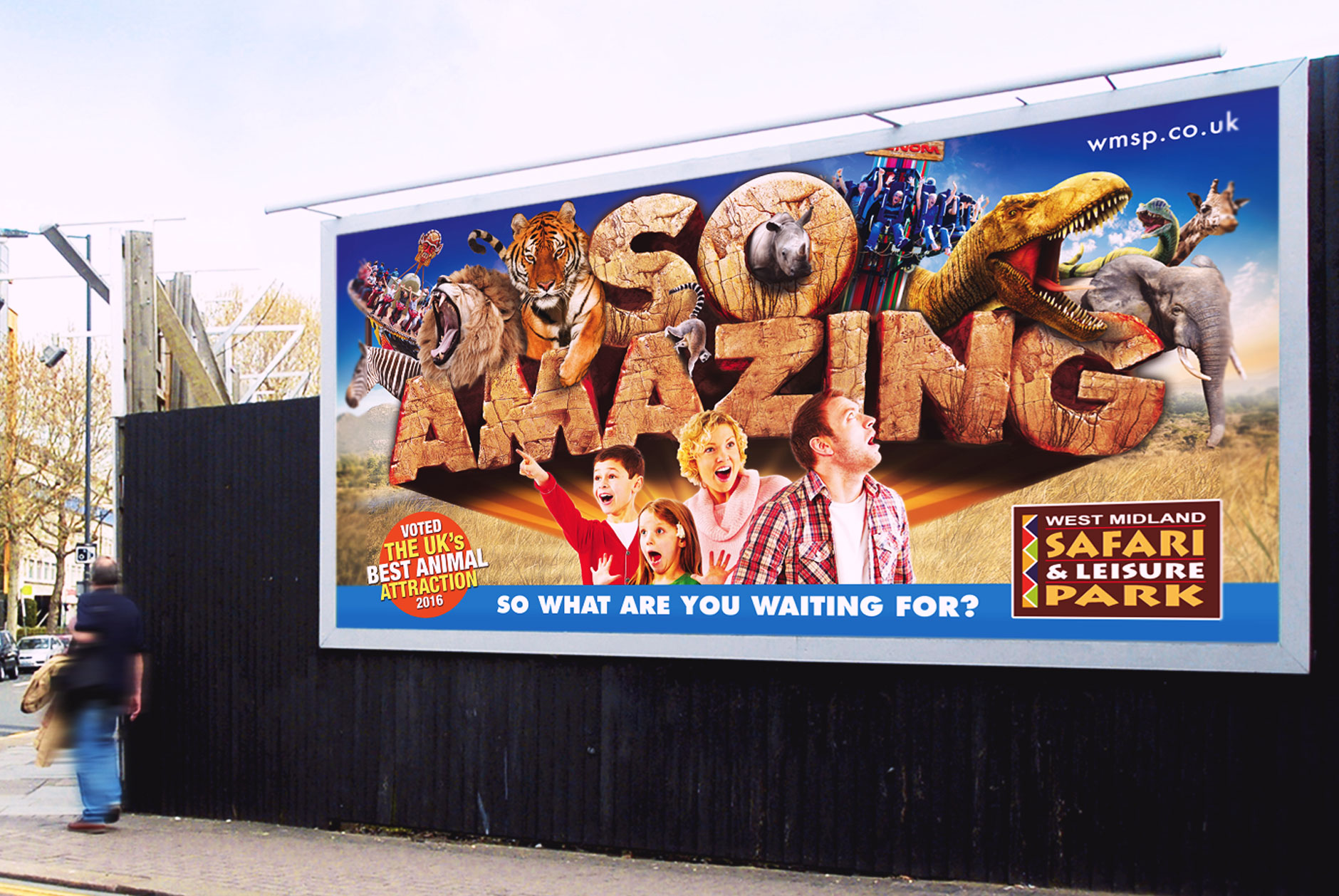M3's new campaign for WMSP is 'So Amazing'